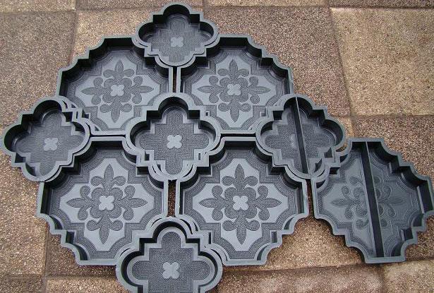 Как изготовить формы для тротуарной плитки своими